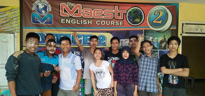 Keceriaan-Bersama-FI Maestro Course Kampung Inggris Kediri