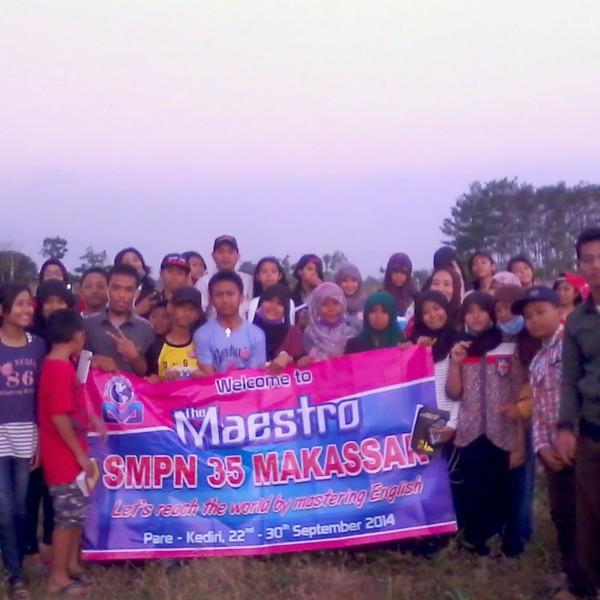 SMPN 35 Makasar Maestro Course Kampung Inggris Kediri