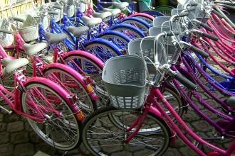 Sewa Sepeda Kegiatan di Kursus Kampung Inggris Pare